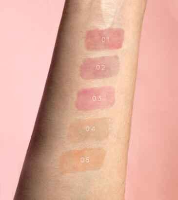 swatches lipgloss vip makeup
